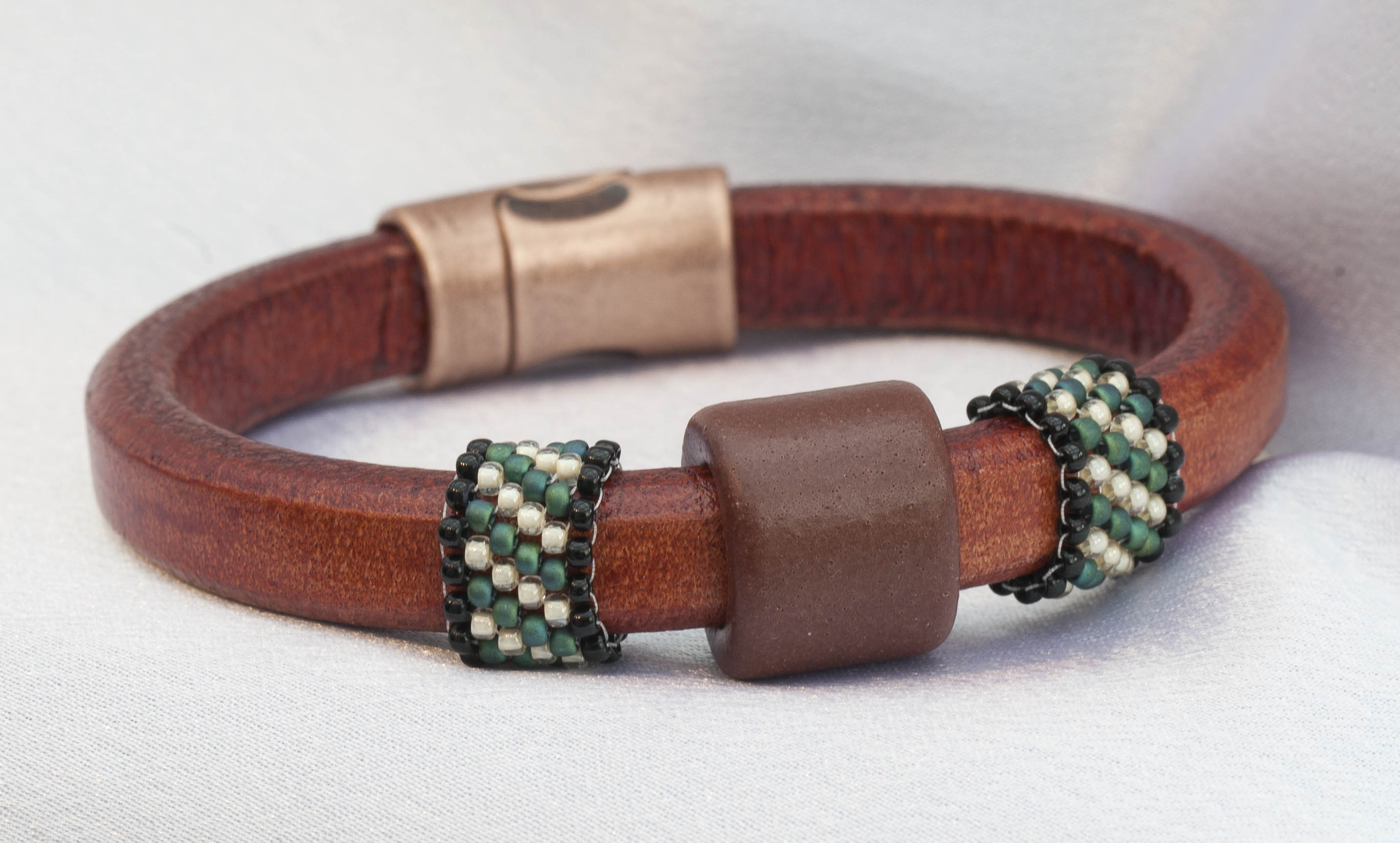 Mens Leather Bracelets. Men's leather bracelets are one of the hottest trends in men's accessories that have both an edgy and timeless appeal. Appropriate for casual or dressed-up occasions, these are must-haves for any man who appreciates the finer things in life.